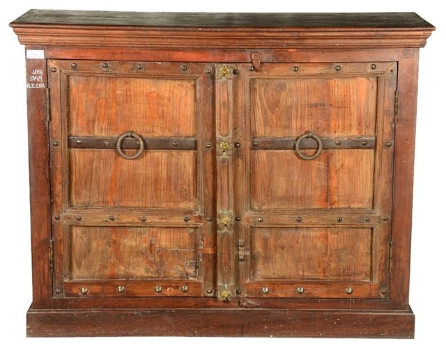 Favorite Orner Traditional Wood Sideboards Within Simply Gothic Reclaimed Wood Rustic Sideboard Buffet (View 3 of 20)