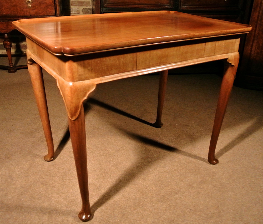 Fine George Ii Mahogany Silver Table C. 1750 Throughout Widely Used Strine  (View 12 of 20)