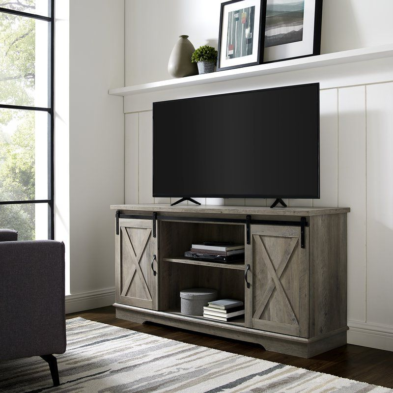 """Fireplace Tv Stand, Tv Pertaining To Metin Tv Stands For Tvs Up To 65"""" (View 3 of 20)"""