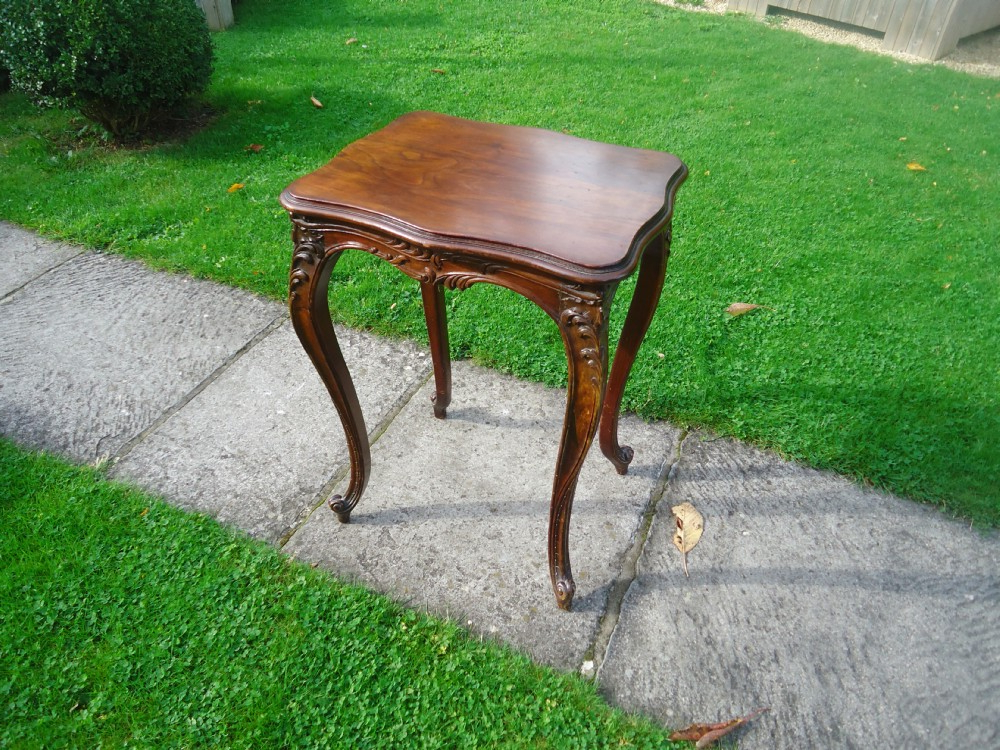 French Walnut Occasional Table With Provenance (View 20 of 20)