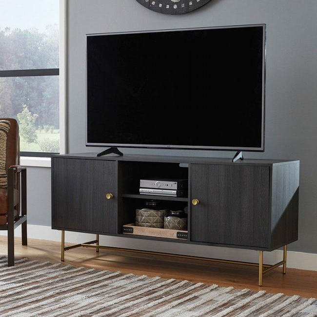 """Furniture Cart For Fashionable Avenir Tv Stands For Tvs Up To 60"""" (View 13 of 20)"""