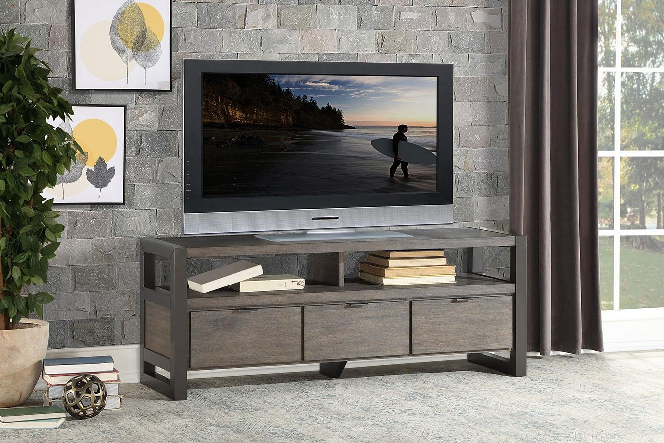 """Furniture Cart Throughout Best And Newest Jace Tv Stands For Tvs Up To 58"""" (View 19 of 20)"""