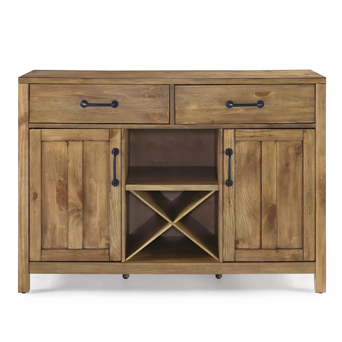 """Furniture, Sideboard For Slattery 52"""" Wide 2 Drawer Buffet Tables (View 6 of 20)"""