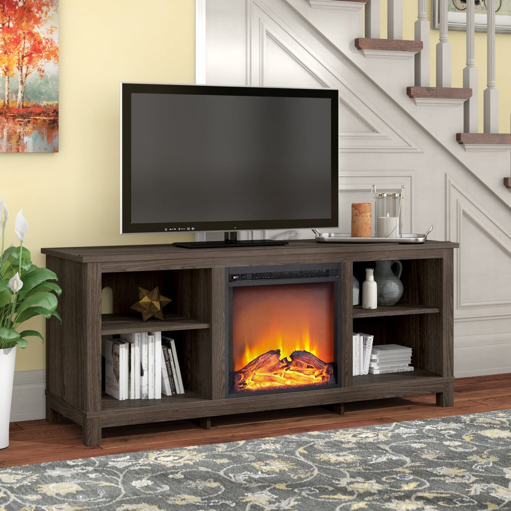 """Gaither Tv Stand For Tvs Up To 65"""" With Fireplace Included Regarding Latest Metin Tv Stands For Tvs Up To 65"""" (View 11 of 20)"""