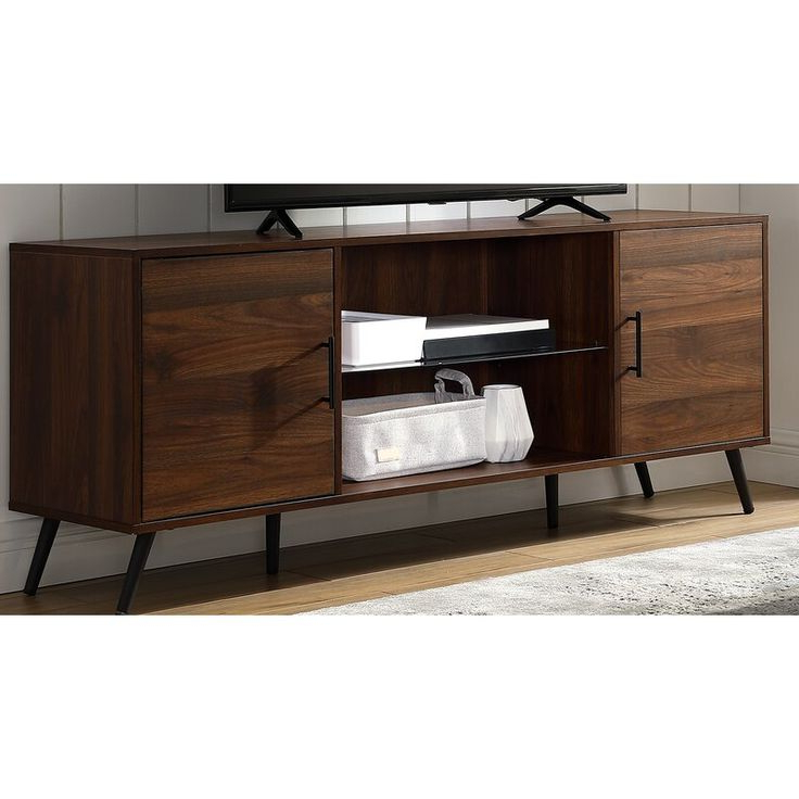 """George Oliver Glenn Tv Stand For Tvs Up To 65 Inches Within Preferred Aaric Tv Stands For Tvs Up To 65"""" (View 5 of 20)"""