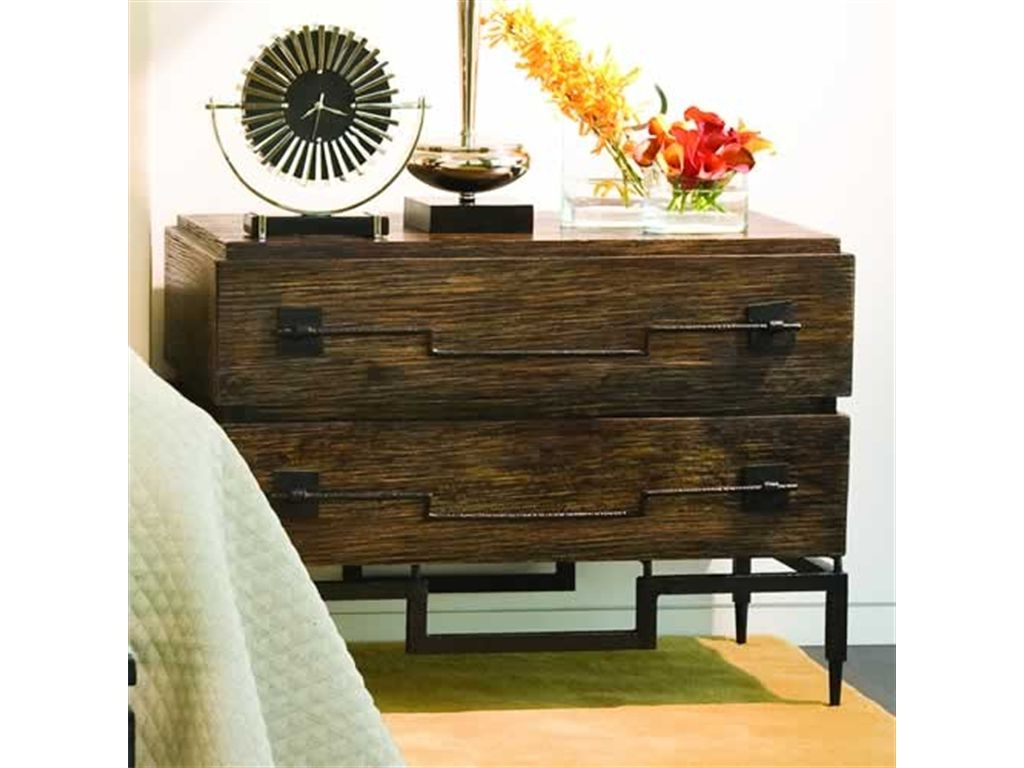 """Global Views Bedroom 2 Drawer Wide Chest Dark Brushed Pertaining To Most Popular Zinaida 59"""" Wide Mango Wood Buffet Tables (View 9 of 20)"""