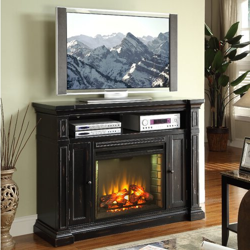 """Greggs Tv Stands For Tvs Up To 58"""" Inside Latest Legends Furniture Manchester Tv Stand With Electric (View 4 of 20)"""