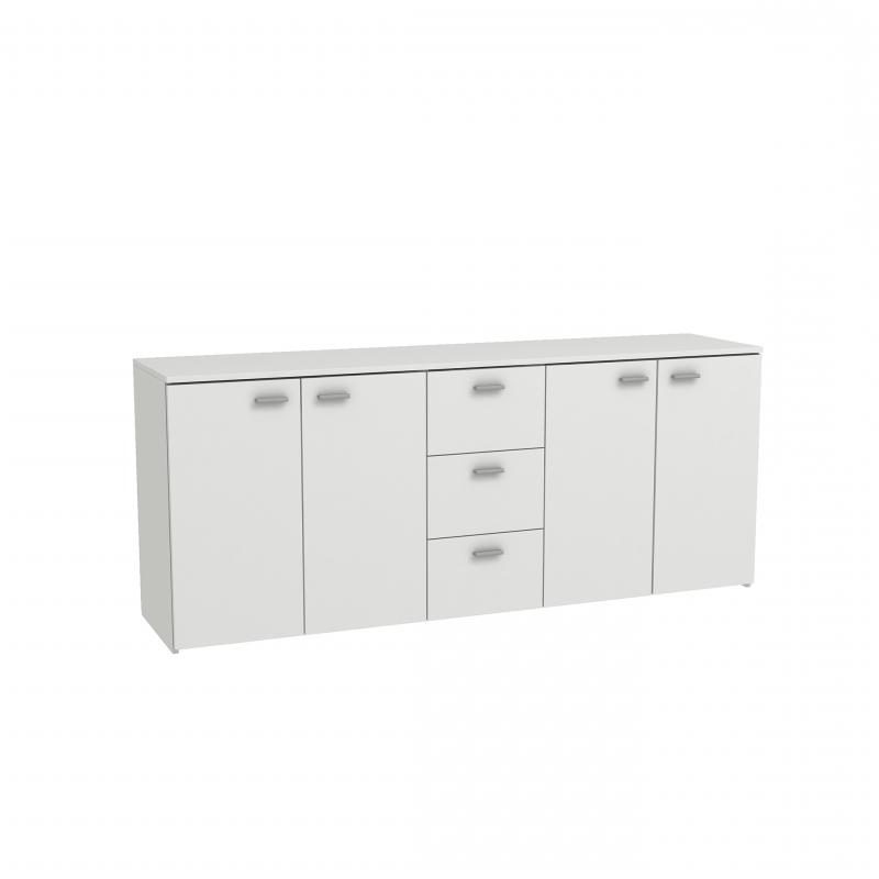 "Grieg 42"" Wide Sideboards In Favorite Bmf Hugo 6 Sideboard 180cm Wide White Living Room Modern (View 4 of 20)"