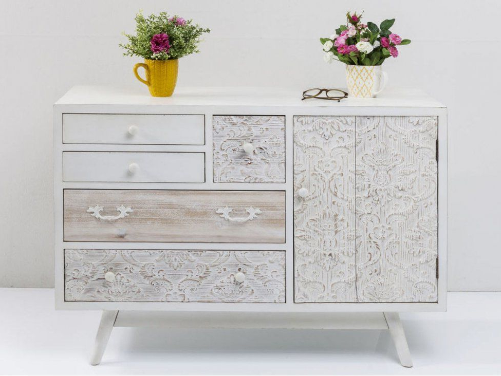 """Hargrove 72"""" Wide 3 Drawer Mango Wood Sideboards Intended For Well Liked Pin On Home (View 15 of 20)"""