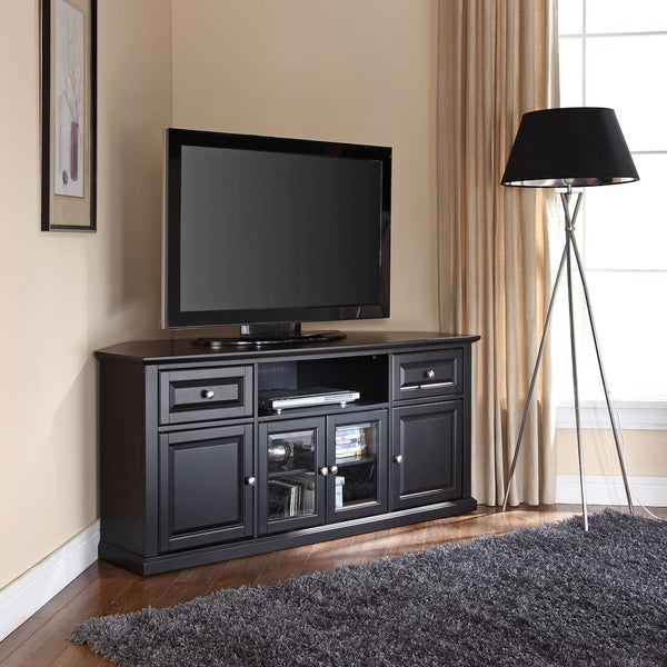 """Herington Tv Stands For Tvs Up To 60"""" Within Newest Shop Black 60 Inch Corner Tv Stand – Free Shipping Today (View 5 of 20)"""
