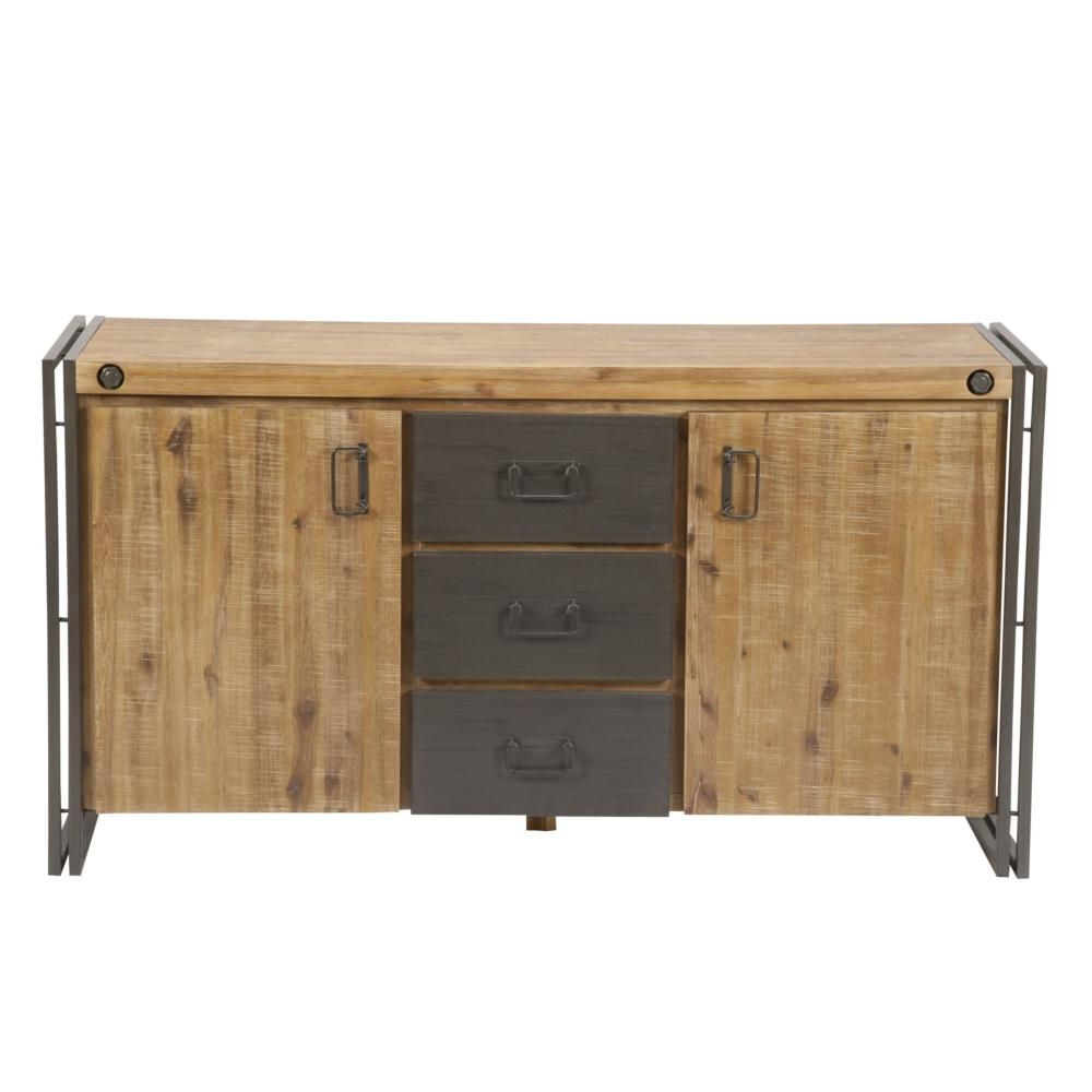 """Heurich 59"""" Wide Buffet Tables For 2020 Brooklyn Sideboard (View 6 of 20)"""