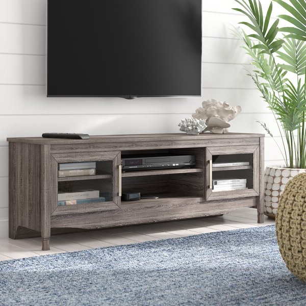 """Highland Dunes Buxton Tv Stand For Tvs Up To 65"""" & Reviews With Trendy Buckley Tv Stands For Tvs Up To 65"""" (View 8 of 20)"""