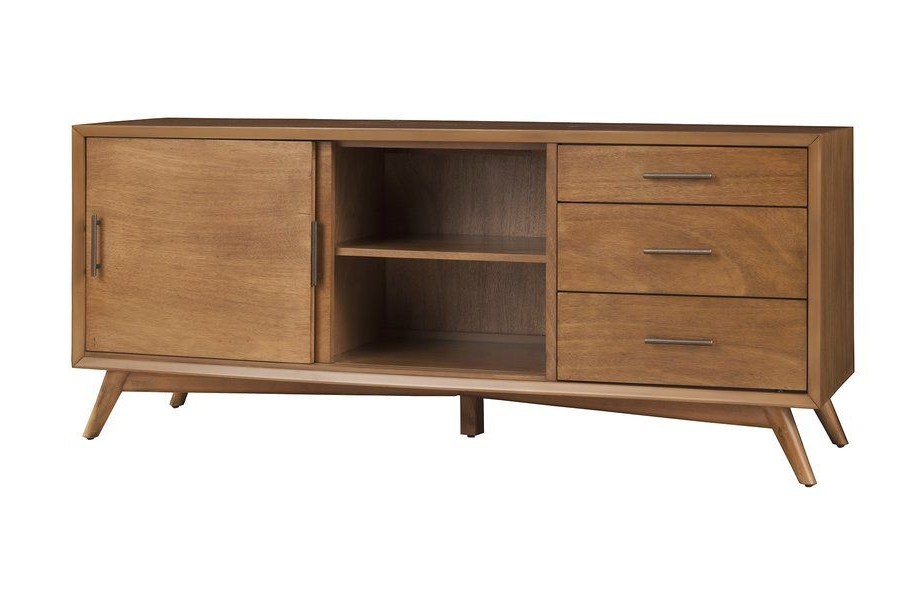 """Huntington Tv Stands For Tvs Up To 70"""" Intended For Current Allmodern Williams Cabinet/enclosed Storage Tv Stand For (View 19 of 20)"""