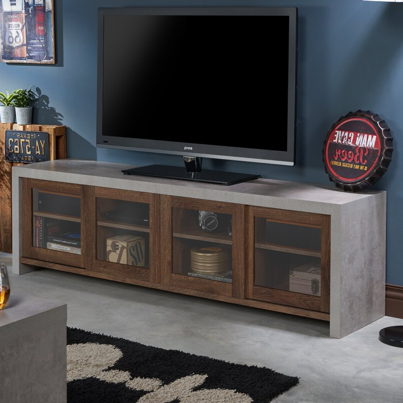 """Huntington Tv Stands For Tvs Up To 70"""" Within Recent Brayden Studio Behan Transitional Tv Stand For Tvs Up To (View 4 of 20)"""