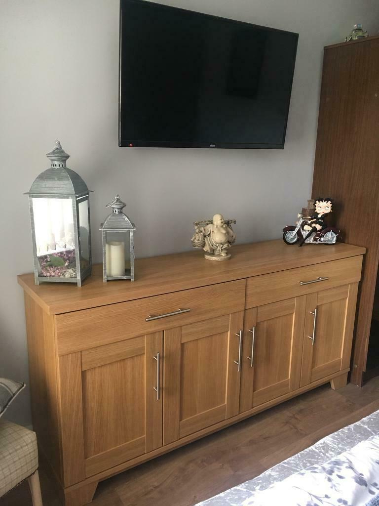 """In Ballymena Intended For Most Popular Desirae 48"""" Wide 2 Drawer Sideboards (View 5 of 20)"""