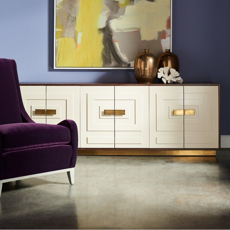 """Interior Inside Latest Emmie 84"""" Wide Sideboards (View 9 of 20)"""