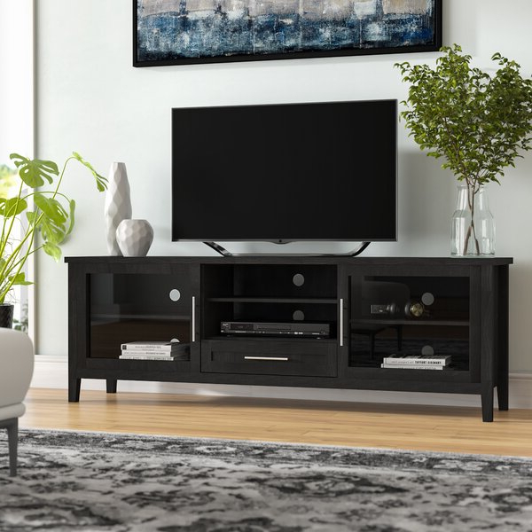 """Ira Tv Stands For Tvs Up To 78"""" In Trendy Latitude Run® Jon Tv Stand For Tvs Up To 78"""" & Reviews (View 9 of 20)"""