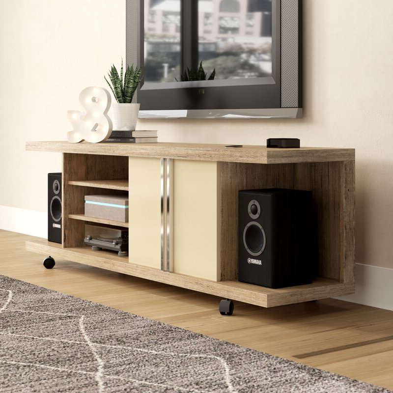 """Ira Tv Stands For Tvs Up To 78"""" Within Trendy Brayden Studio® Austwell Tv Stand For Tvs Up To  (View 4 of 20)"""