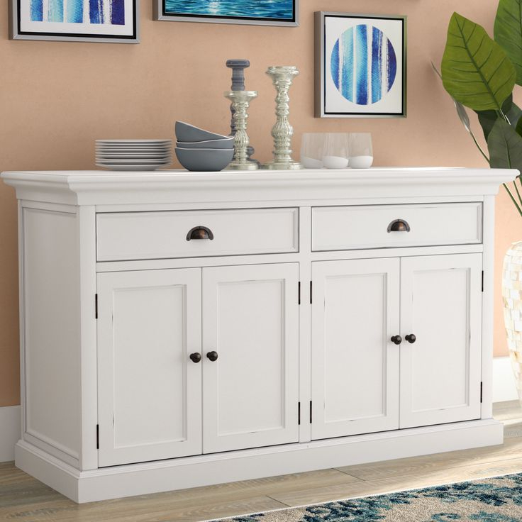 """Jakobe 66"""" Wide Sideboards Intended For Most Popular Amityville (View 2 of 20)"""