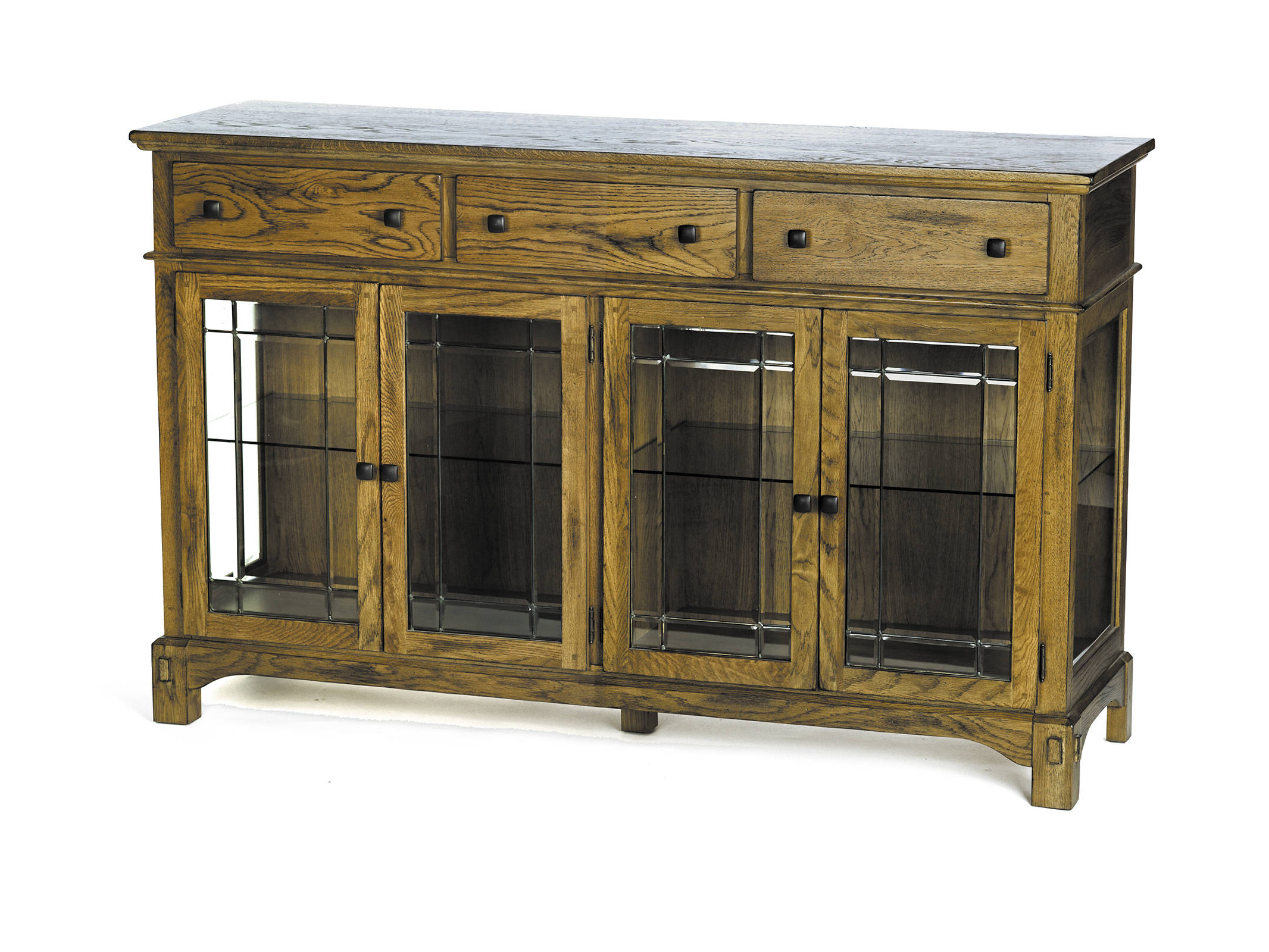 """Jakobe 66"""" Wide Sideboards Intended For Widely Used A America Laurelhurst Rustic Oak 66 Inch Buffet (View 18 of 20)"""