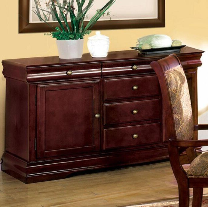 """Kaysville 31.5"""" Wide Drawer Servers Intended For Most Recently Released Furniture Of America St (View 11 of 20)"""