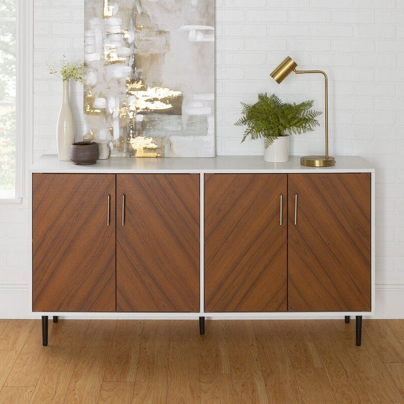 """Keiko 58"""" Wide Sideboard In (View 3 of 20)"""