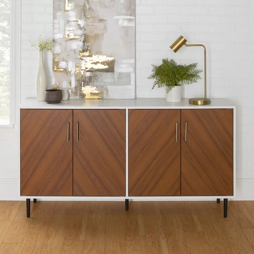 """Keiko 58"""" Wide Sideboard In  (View 14 of 20)"""
