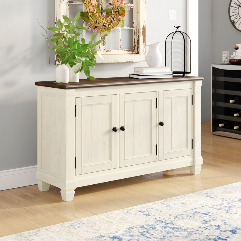 """Keiko 58"""" Wide Sideboards In Current August Grove® Kaley 58"""" Wide Sideboard & Reviews (View 6 of 20)"""