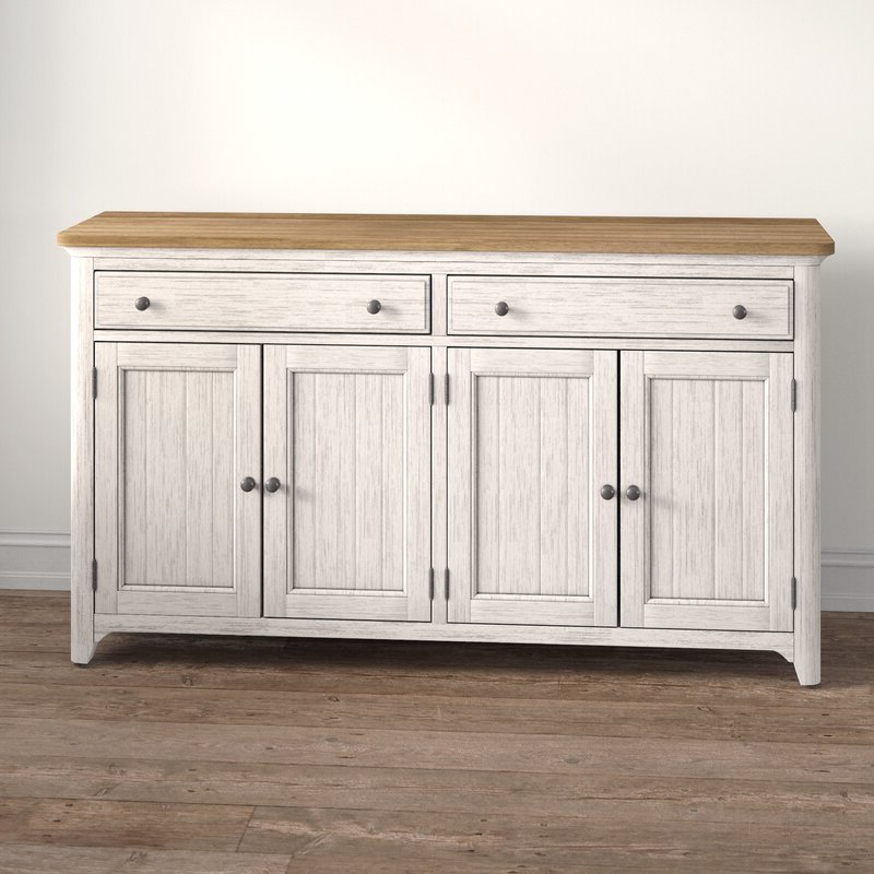 """Kelly Clarkson Home Konen 68"""" Wide 2 Drawer Sideboard Within Well Known Kidham 68"""" Wide Sideboards (View 3 of 20)"""