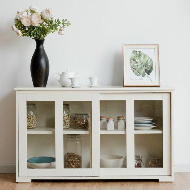 """Kitchen Cabinet Storage Regarding Grieg 42"""" Wide Sideboards (View 17 of 20)"""