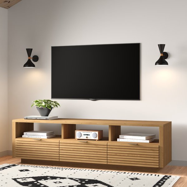 """Kristina Tv Stand For Tvs Up To 70 Inches & Reviews Regarding Well Liked Lederman Tv Stands For Tvs Up To 70"""" (View 16 of 20)"""