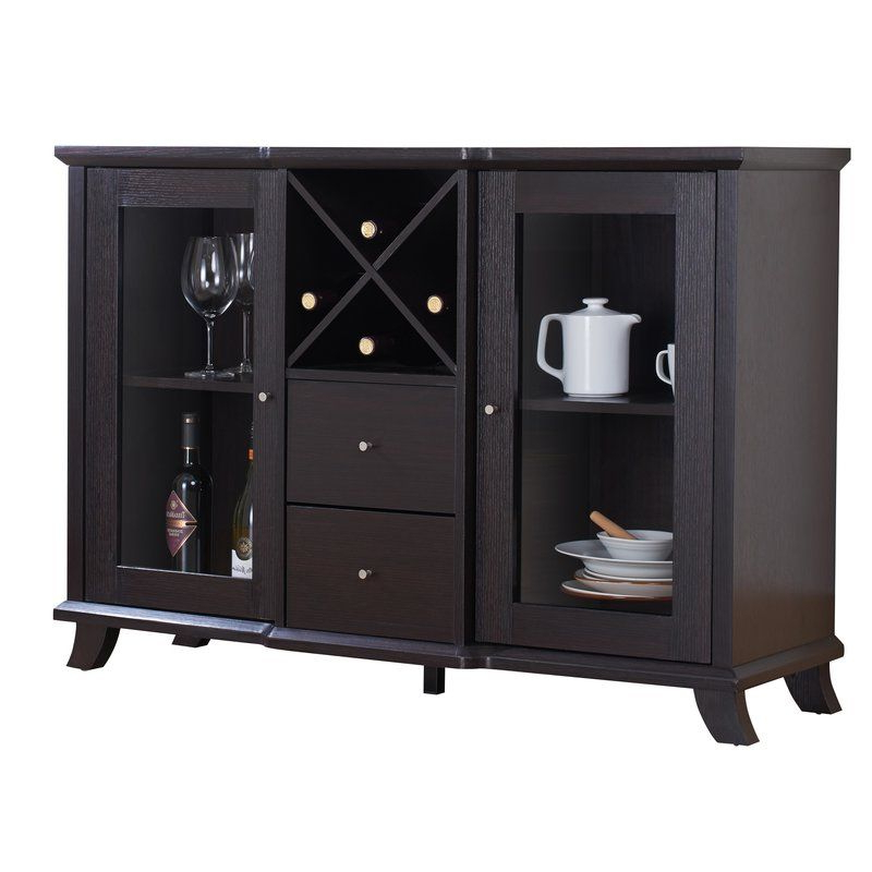 Latest Chouchanik 46 Wide 4 Drawer Sideboards Inside Naveen  (View 14 of 20)