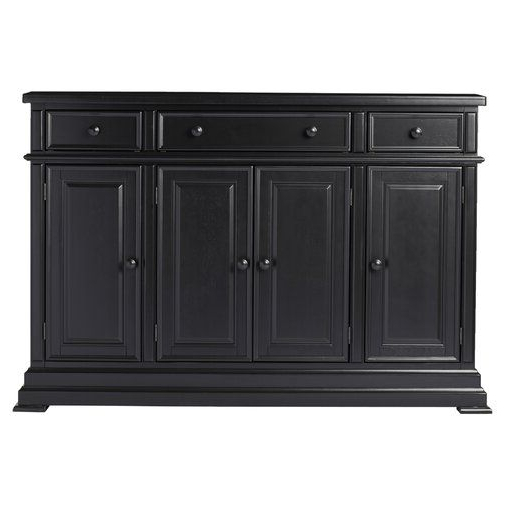 """Latest Courtdale 60"""" Wide 3 Drawer Sideboard In  (View 14 of 20)"""
