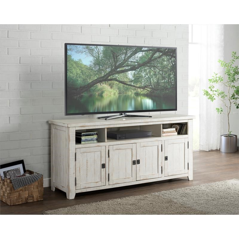 """Latest Dallas Tv Stands For Tvs Up To 65"""" Regarding Martin Svensson Home Nantucket 65"""" Solid Wood Tv Stand (View 8 of 20)"""