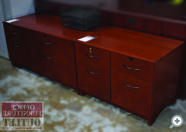 """Latest Fugate 48"""" Wide 4 Drawer Credenzas With Filing & Storage (View 9 of 20)"""