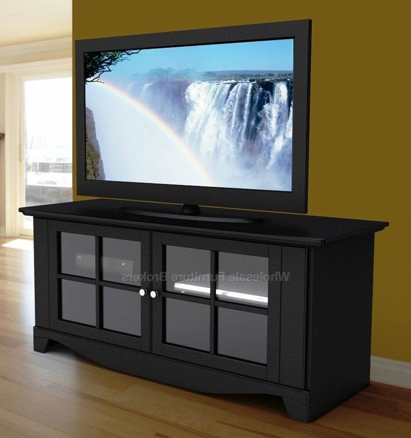 Latest Kemble Tv Stands For Tvs Up To 56 In Pinnacle 56 Inch Media Console With Doors At Gowfb (View 18 of 20)