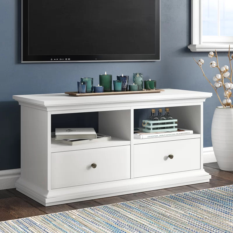 """Latest Quillen Tv Stands For Tvs Up To 43"""" With Regard To Alexa Tv Stand For Tvs Up To 43"""" (View 4 of 20)"""