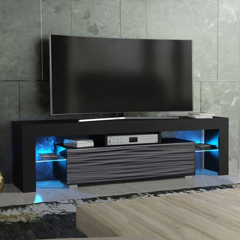 """Lederman Tv Stands For Tvs Up To 70"""" Intended For Trendy Orren Ellis Milano Tv Stand For Tvs Up To 70"""" & Reviews (View 15 of 20)"""