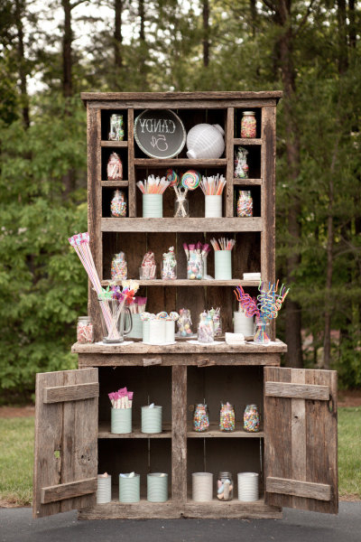Lemon Bell Events: Candy Buffet With Regard To 2019 Lilah Sideboards (View 2 of 20)