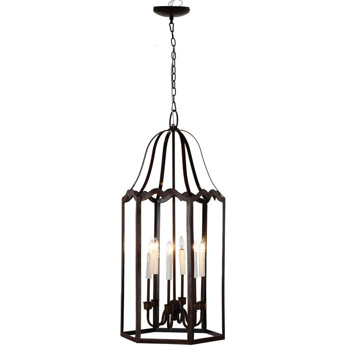 Leveille Buffet Tables For Most Popular Laurel Foundry Modern Farmhouse Leveille 6 Light Candle (View 9 of 20)