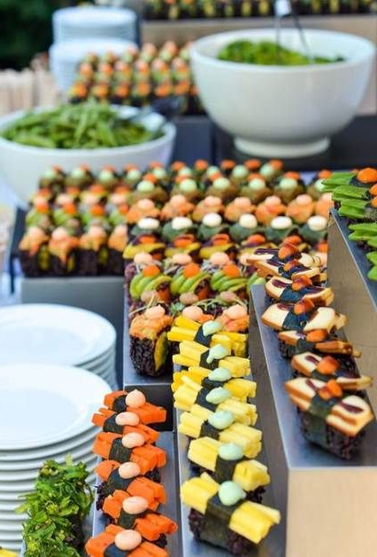 Lilah Sideboards Pertaining To Trendy Wedding Food Stations Party Drinks 37+ Trendy Ideas (View 18 of 20)