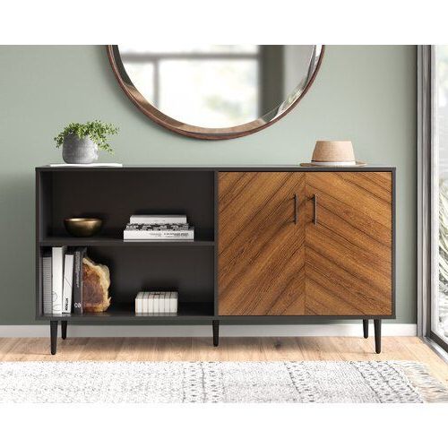"""Living Room In Most Up To Date Islesboro 58"""" Wide Sideboards (View 12 of 20)"""