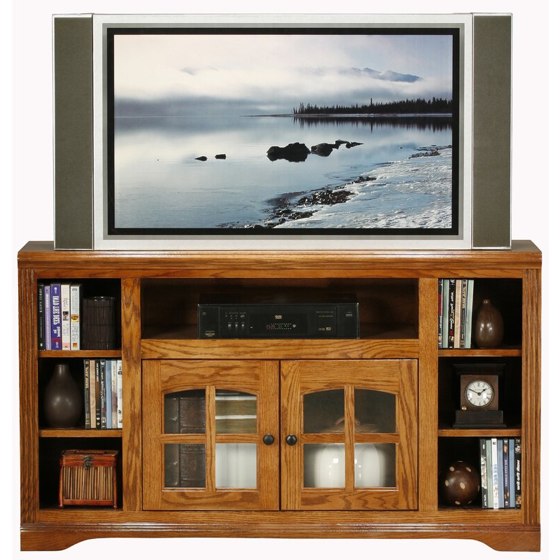 """Loon Peak® Glastonbury Solid Wood Tv Stand For Tvs Up To For Fashionable Binegar Tv Stands For Tvs Up To 65"""" (View 16 of 20)"""