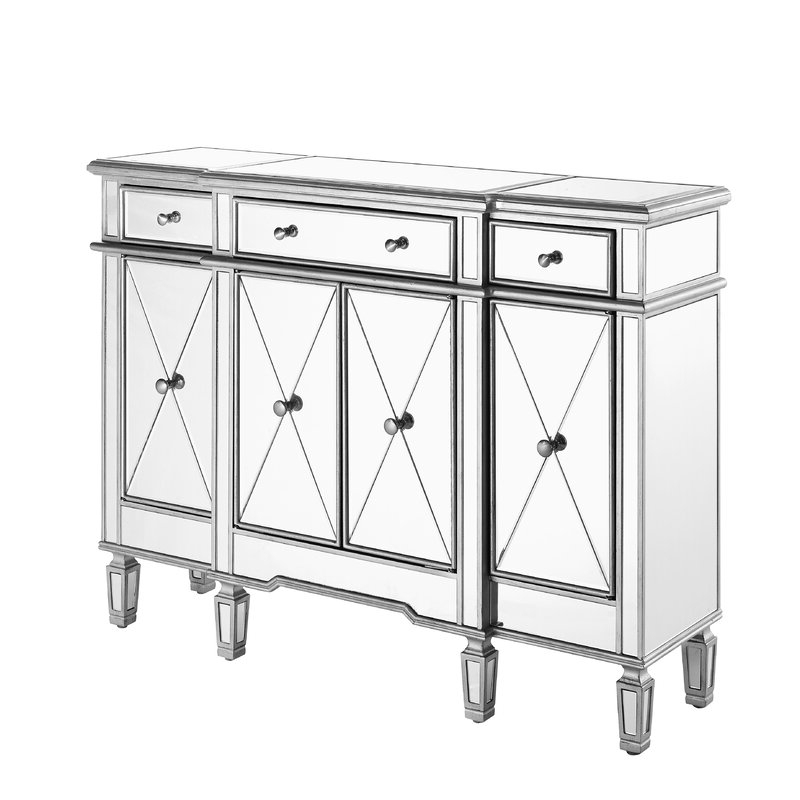 """Lorraine 48"""" Wide 2 Drawer Acacia Wood Drawer Servers In 2019 Best Sideboard Buffet Oz Design 2020 – Buyer's Guide (View 12 of 17)"""