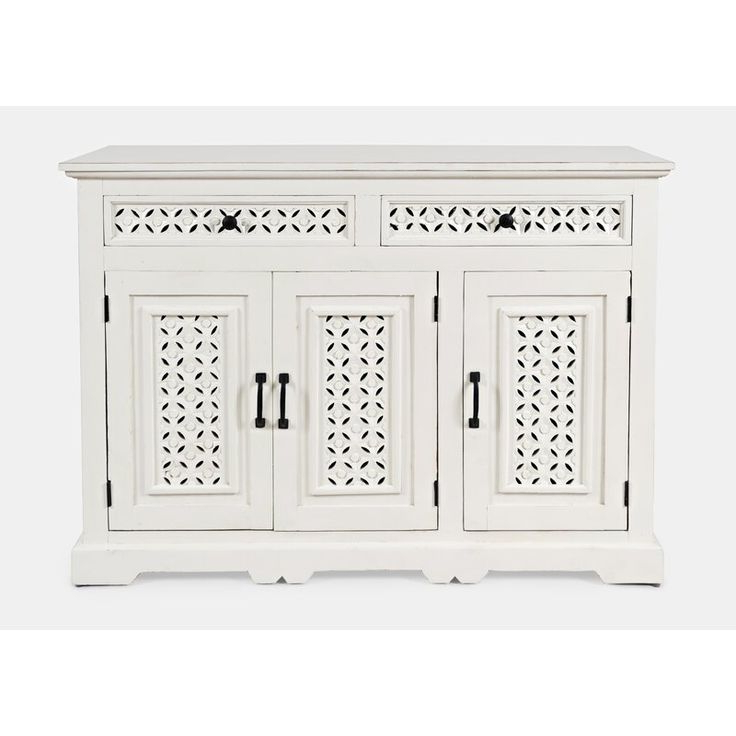 """Lorraine 48"""" Wide 2 Drawer Acacia Wood Drawer Servers In Current Pin On Sunroom Decorating (View 11 of 17)"""