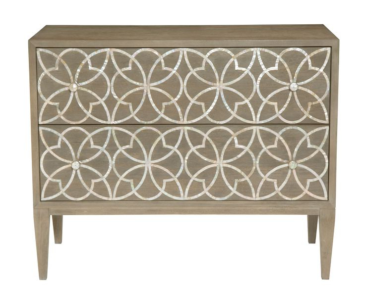 """Lorraine 48"""" Wide 2 Drawer Acacia Wood Drawer Servers In Favorite 353 116 Jewell Drawer Chest (View 16 of 17)"""