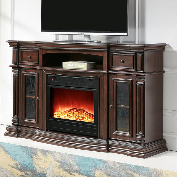 """Lorraine Tv Stands For Tvs Up To 70"""" With Regard To Favorite Alcott Hill® Raya Tv Stand For Tvs Up To 70"""" With Electric (View 3 of 20)"""