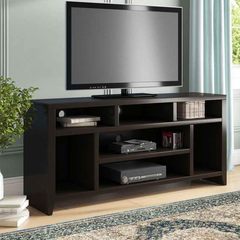 """Lucille Tv Stands For Tvs Up To 75"""" Inside Widely Used Garretson Solid Wood Tv Stand For Tvs Up To 75"""" In (View 16 of 20)"""