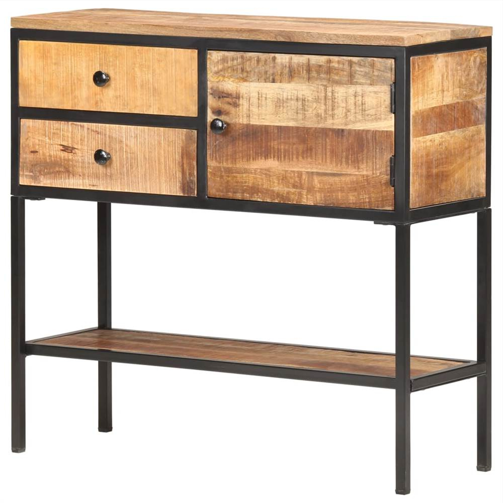 """Maddox 80"""" Wide Mango Wood Sideboards For Well Liked Sideboard 85x30x80 Cm Rough Mango Wood (View 7 of 20)"""