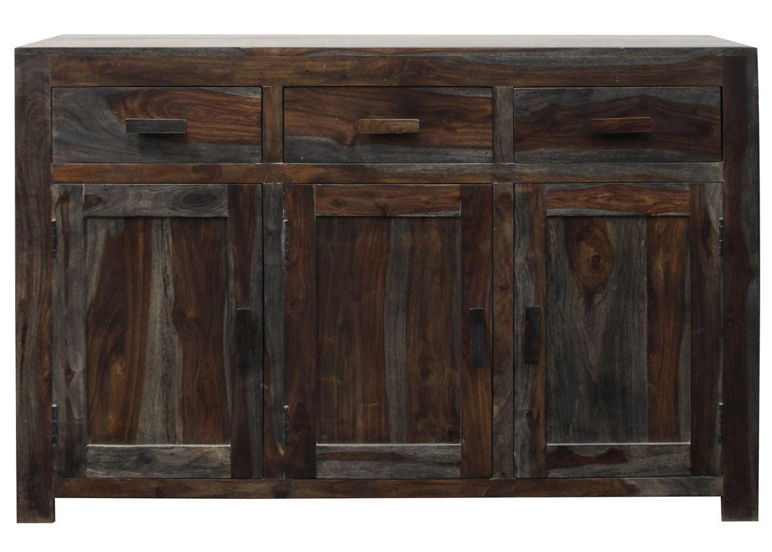 """Maeva 60"""" 3 Drawer Sideboards Throughout Preferred Marietta 3 Doors, 3 Drawers Sideboard (with Images) (View 16 of 20)"""